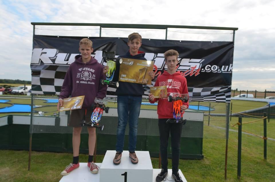 2wd Junior 2016 podium
