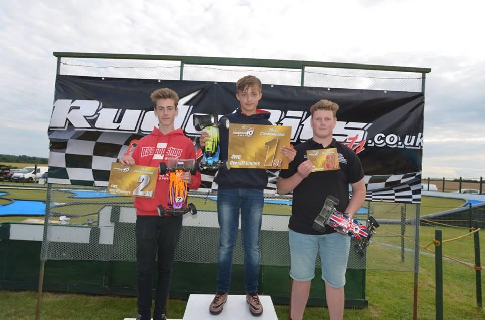 4wd Junior 2016 podium